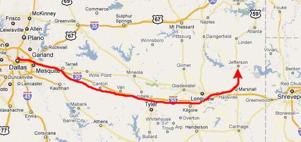 20101026 A Trip To Jefferson Texas